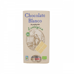 Chocolate blanco sin gluten eco - 100 gr