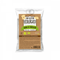 Harina panificable sin gluten ecológica - 500 gr